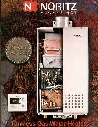 rinnai offers endless supply of hot water simultaneously Rinnai Tankless Water Heater Model - 2532FFU (Continuum) Rinnai's Continuum is the only system available that