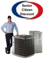 Senior Discount - Air Conditioning